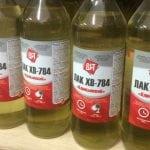 Быстросохнущий лак в бутылках