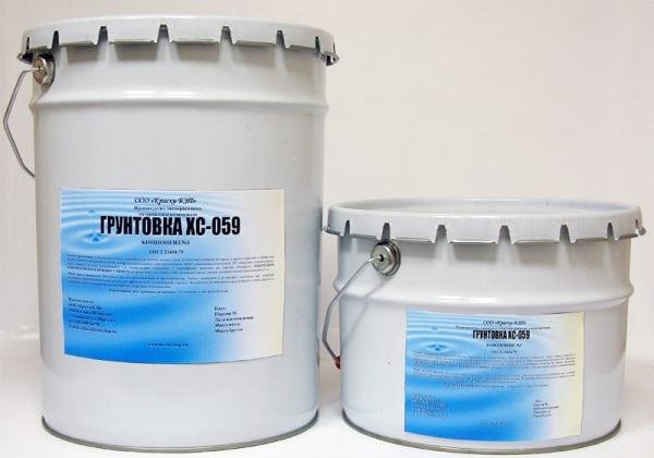 Двухкомпонентная грунтовка ХС-059