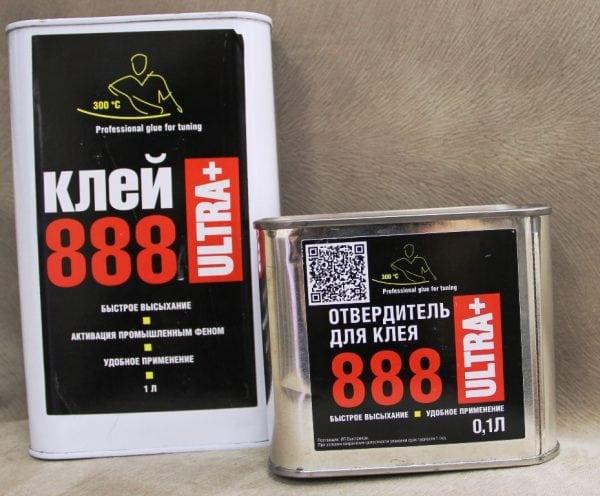 888 Ультра Плюс с отвердителем