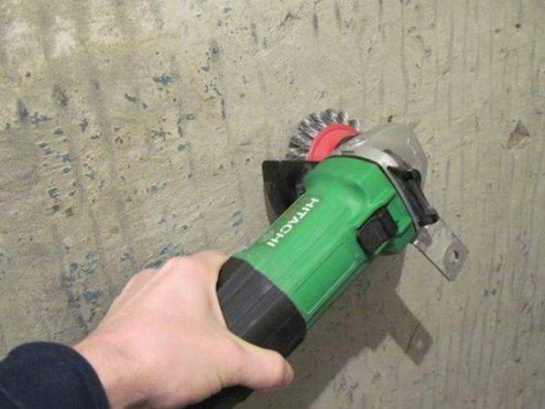 Подготовка бетонной поверхности к грунтованию