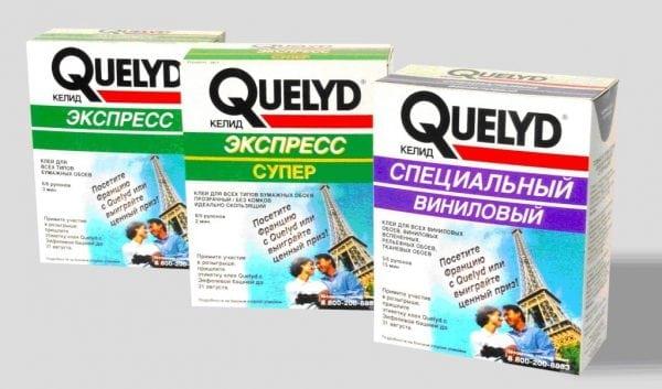 Разновидности клея Quelyd