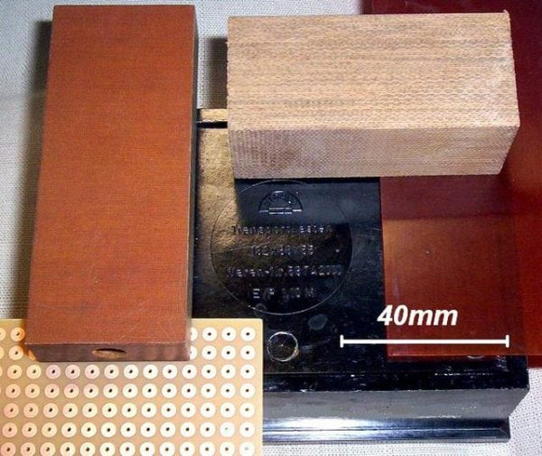 Детали изготовленные с применением фенолформальдегидных полимеров