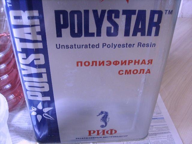 Свойства и способы применения полиэфирной смолы