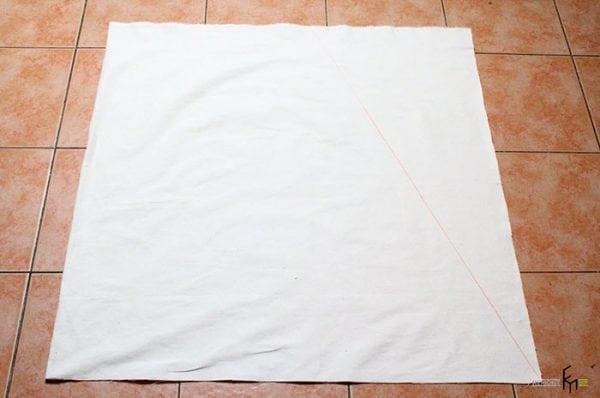 Чистый кусок мягкой ткани