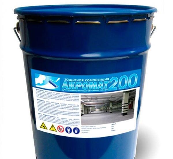 Полиуретановая эмаль по бетону
