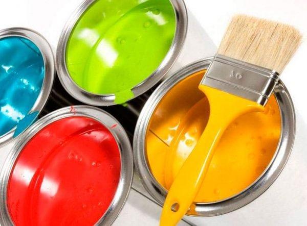 Разная водоэмульсионная краска