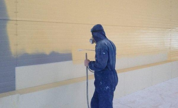 Безвоздушный метод покраски