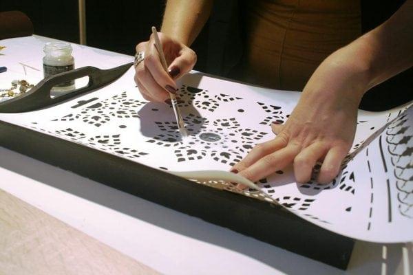 Изготовление трафаретов для стен по шаблону