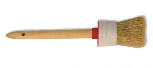 Малярная овальная кисть