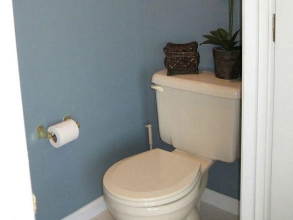 Покраска туалетной комнаты своими руками