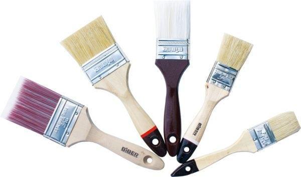 Разнообразие кистей для покраски