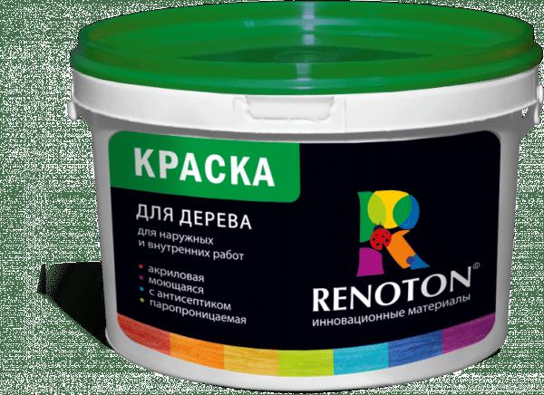 Краска для дерева фирмы Renoton