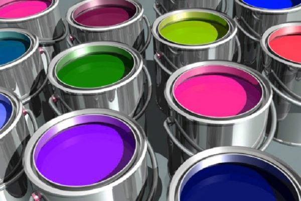 Разнообразные виды краски для камня и металла