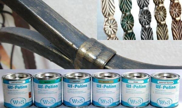 Кузнечная краска - Патина WS-Plast