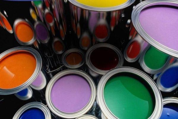 Краски и лаки различных фирм