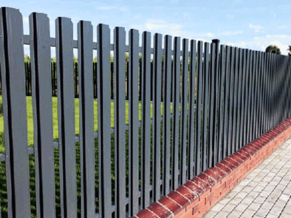 Прогрунтованный забор
