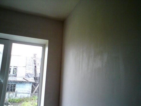 Стены подготовленные к покраске