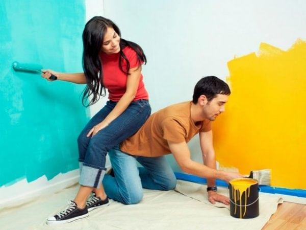 Сравнение различных красок для стен