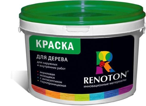Краска для дерева для наружных и внутренних работ