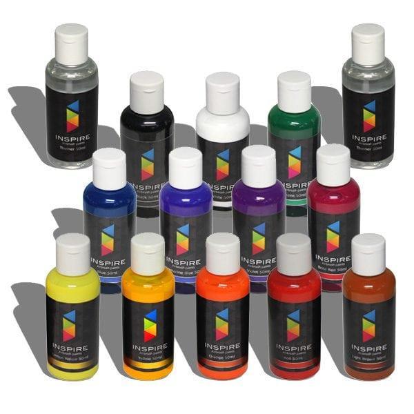 Акварельные краски для аэрографии
