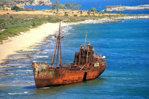 Коррозия корабля