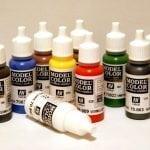 Выбор краски для аэрографа