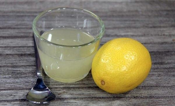 Использование лимонного сока