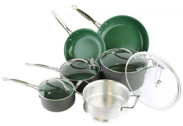 Кухонная анодированная посуда
