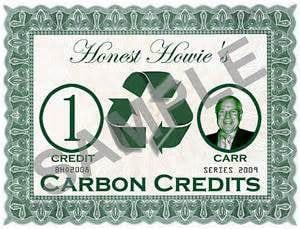 Углеродные кредиты выиграла греческая фирма
