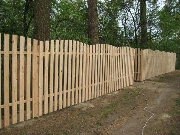 Обновление деревянного забора