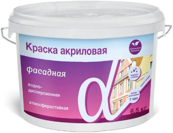 Краска фасадная водно-дисперсионная