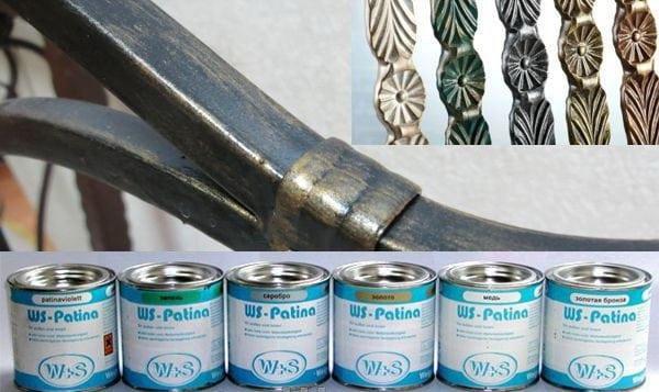 Кузнечные краски для декорирования металла