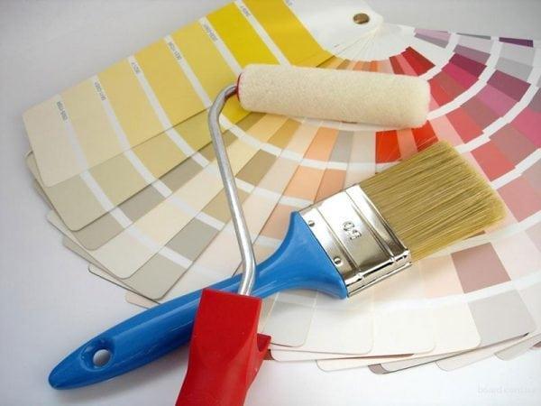 Выбор цвета для покраски