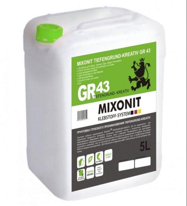 Грунтовка «Mixonit GR 43»