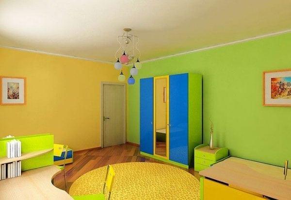 Окрашивание комнаты
