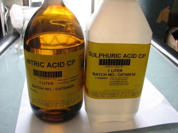 Серная кислота для оксидирования по методу Бутурлина