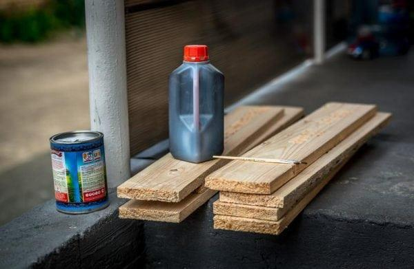 Синтетическая олифа для пропитки дерева