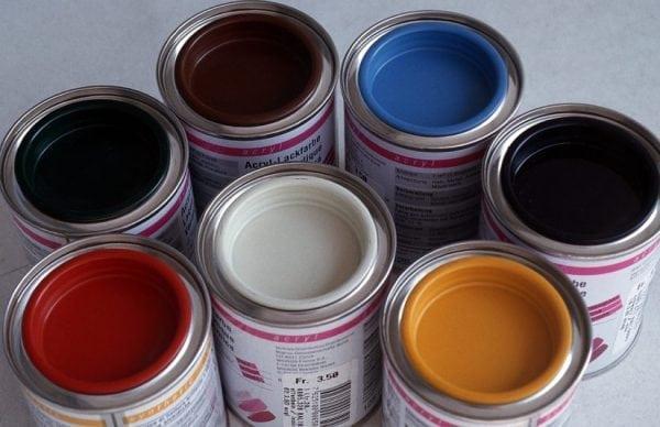 Акриловые краски для дерева