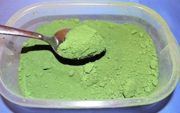 Зеленые пигменты
