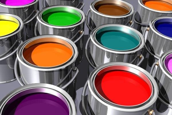 Выбор латексной краски для помещения