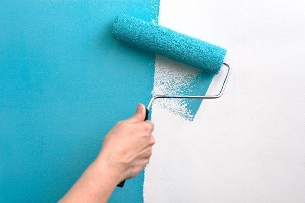 Покраска латексной краской стен