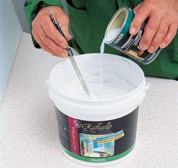 Разбавление водоэмульсионной краски для краскопульта