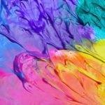 Смешение разных красок
