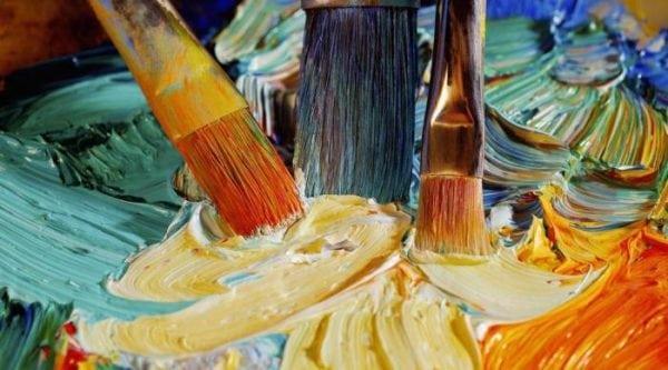 Техника смешивания масляных красок