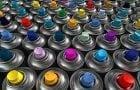Аэрозольная краска для пластика