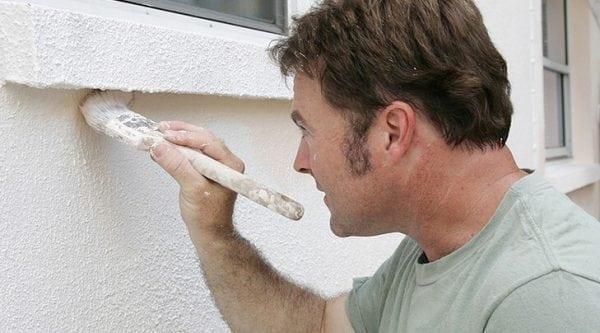 Латексная фасадная краска для дома