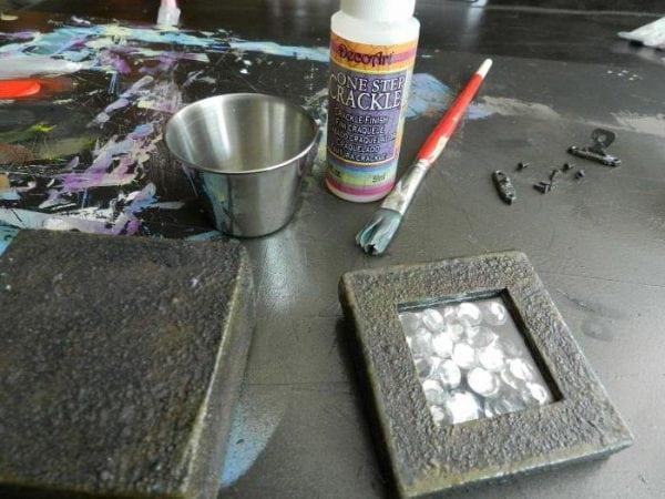 Молотковая краска по металлу для наружных работ