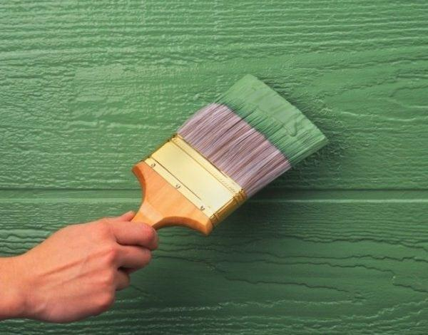 Покрытие деревянных стен масляной краской