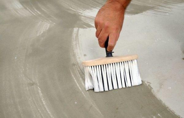 Подготовка бетонного пола к окрашиванию эпоксидной краской