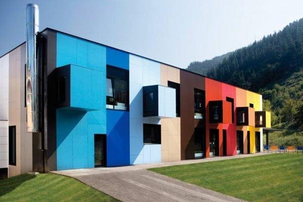 Цветовое решение для фасадов